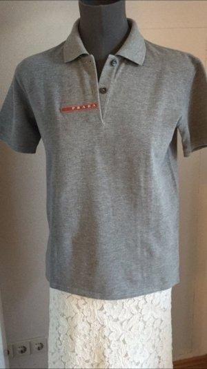Prada Polo Shirt Piqué grau S 36-38