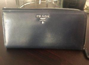 Prada Portemonnaie in blau