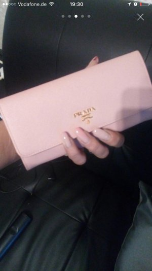 Prada Portemonnaie Rose Gold