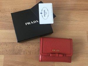 Prada Portemonnaie Rot