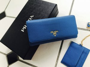 Prada Bag blue leather
