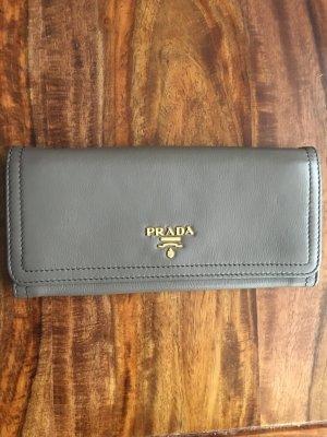 Prada Portmonee / Portemonnaie taupe