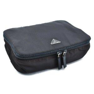 Prada Handbag black synthetic material