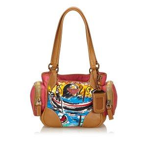 Prada Handbag brown nylon