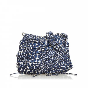 Prada Printed Nylon Shoulder Bag