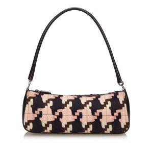 Prada Printed Wool Handbag