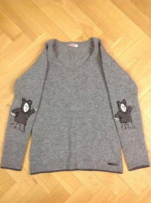 Prada Pullover grau Wolle Gr. IT 44 / D 40