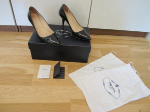 Prada Pumps 36 High Heels Schwarz