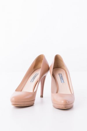 Prada High Heels beige leather