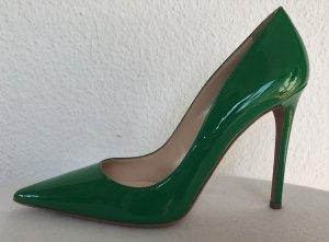 Prada, Pumps, Lackleder, grün (verde), 40,5, neu, € 600,-