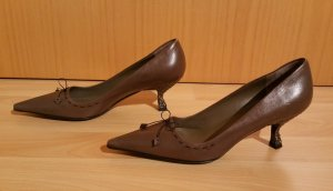 Prada Pumps brown leather