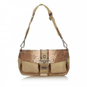 Prada Shoulder Bag beige nylon