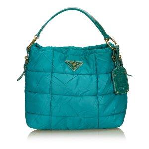 Prada Shoulder Bag green nylon