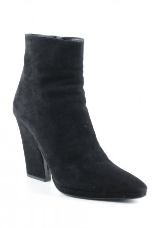 Prada Zipper Booties black elegant