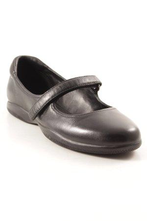 Prada Ballerines à lacets noir élégant