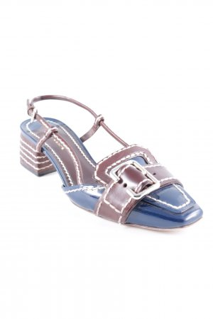 Prada Strapped Sandals brown-blue business style