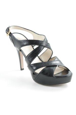 Prada Riemchen-Sandaletten schwarz Elegant