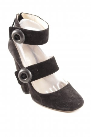 Prada Strapped pumps black extravagant style
