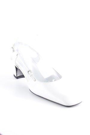 Prada Riemchenpumps weiß Elegant