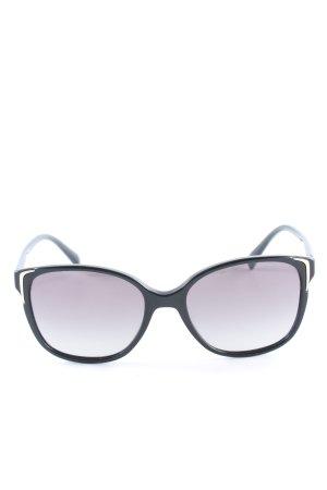 """Prada runde Sonnenbrille """"PR 0PR 01OS 55 1AB3M1"""" schwarz"""