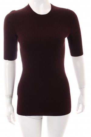 Prada Crewneck Sweater bordeaux casual look