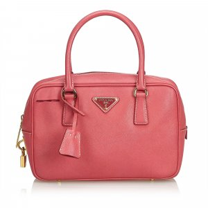 Prada Handbag pink leather