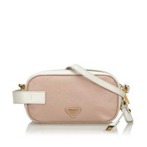 Prada Saffiano Leather Crossbody Bag