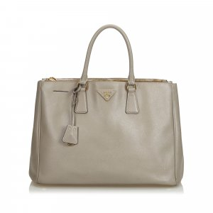 Prada Saffiano Leather Galleria Handbag