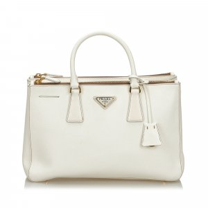 Prada Saffiano Leather Galleria Tote Bag