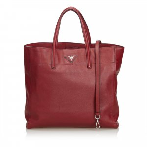 Prada Saffiano Leather Soft Tote