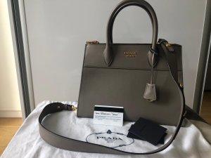 Prada Handbag grey leather