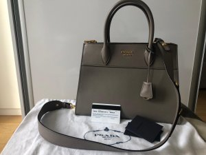 Prada Handbag grey leather