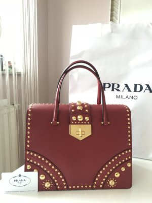 Prada Sac à main rouge