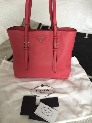 Prada saffiano Pink Tasche Handtasche shopper