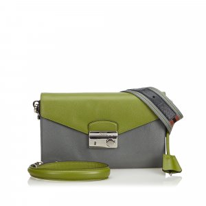Prada Saffiano Sound Shoulder Bag