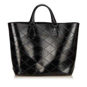 Prada Tote black imitation leather