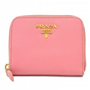 Prada Wallet pink leather