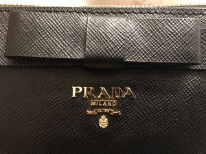 Prada Clutch black leather