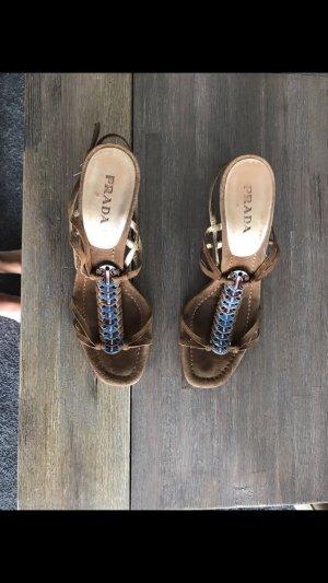 Prada Sandale in braun