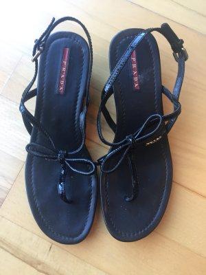 Prada Sandale schwarz Größe 38