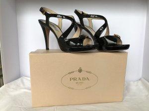 Prada Sandalo con cinturino nero