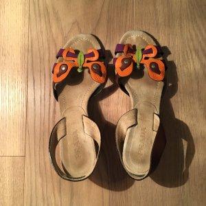 PRADA Sandalen mit Schmetterling