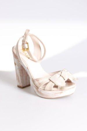 Prada sandals wooden