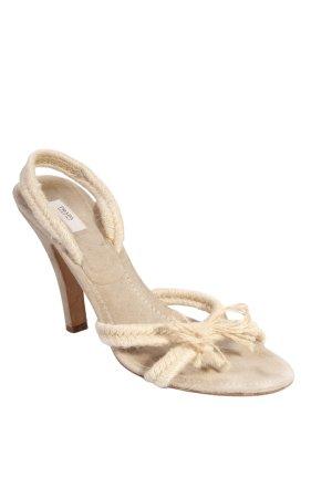 Prada Sandaletten beige-braun