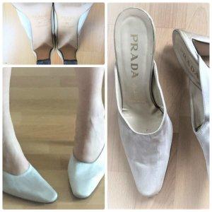 Prada Satin Schuhe gr. 37,5 Top Zustand