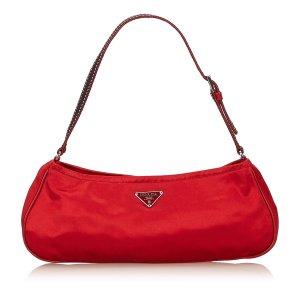 Prada Satin Shoulder Bag