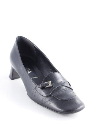 Prada Schlüpfschuhe schwarz schlichter Stil