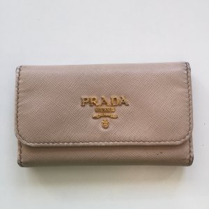 Prada Key Case multicolored leather