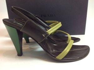 Prada Schuhe braun Gr. 37