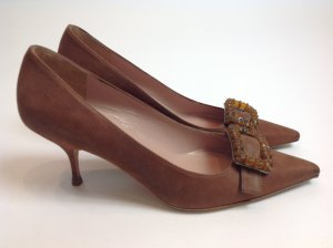 Prada Schuhe braun Gr. 38